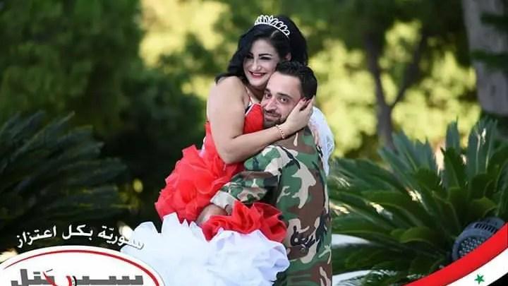 "45d5c0c278d68 زفاف جماعي "" عالحلوة و المرة "" لعناصر ميليشيات بشار الأسد في اللاذقية (  فيديو )"