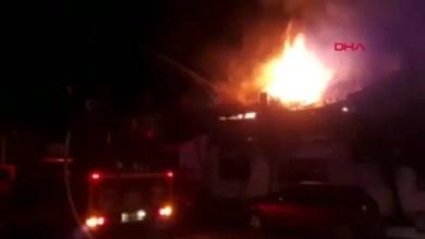 Photo of حريق يلتهم منزل عائلة سورية في مدينة تركية ( فيديو )