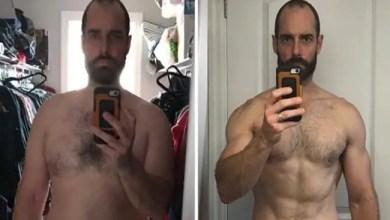 Photo of في أقل من عام .. رجل يصف رحلته من البدانة إلى الجسد المثالي
