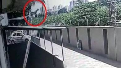 Photo of في الهند .. نجاة طفلة سقطت من الطابق 12 ! ( فيديو )