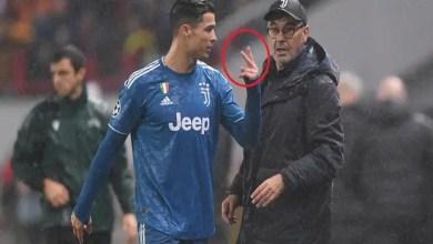 "Photo of رونالدو يرفض مصافحة المدرب بعد تبديله .. و ساري يفسر غضب "" الدون """