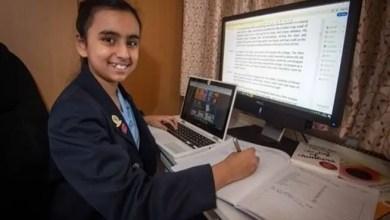 Photo of طفلة إنكليزية في العاشرة تملك عبقرية أنشتاين