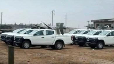 Photo of 250 عنصراً من لواء تابع لإيران مع العشرات من سياراتهم و دباباتهم يصلون إلى إدلب