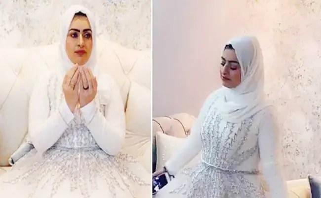 سعودية تحتفل بطلاقها و تثير الجدل على   تويتر   ! ( فيديو )