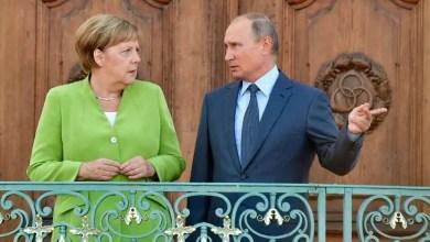 Photo of بوتين و ميركل يناقشان الوضع في الشرق الأوسط السبت في موسكو
