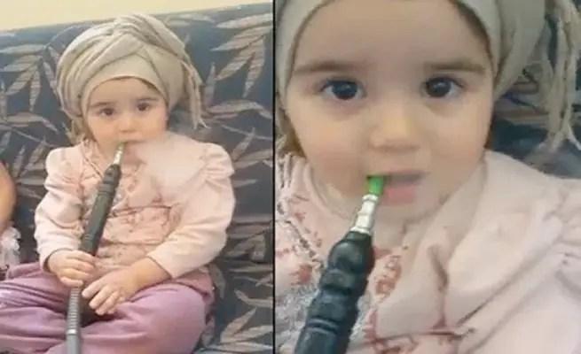 "Image result for توجيه الاتهام لأم سعودية صورت طفلتها تدخن ""الشيشة"""