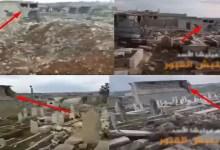 """Photo of عن انتهاكات عناصر """" جيش بشار الأسد العربي السوري """" للمقابر ( فيديو )"""