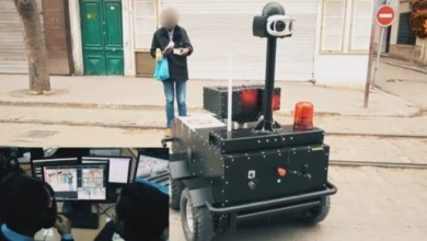 """Photo of """" روبوتات """" مدرعة تلاحق مخالفي الحظر الصحي في تونس ! ( فيديو )"""