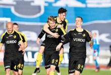 Photo of هدف رائع في الدوري الدنماركي من مسافة بعيدة ( فيديو )