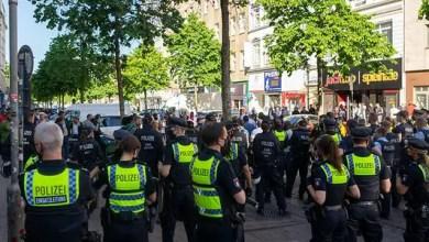 Photo of مظاهرات في مدينة ألمانية احتجاجاً على مقتل جورج فلويد في أمريكا
