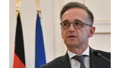 """صورة وزير خارجية ألمانيا : لن يكون هناك """" منتصر """" في صراع ليبيا"""