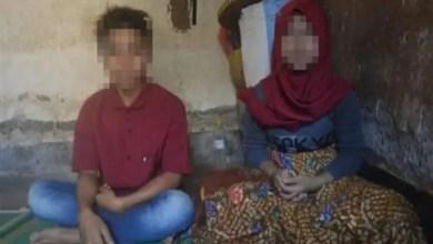 صورة في إندونيسيا .. قاصران يرغمان على الزواج لأنهما التقيا بعد غروب الشمس !