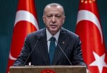 صورة راح ضحيته العشرات .. أول تعليق لأردوغان على قصف روسيا لمركز للجيش الحر في الشمال السوري