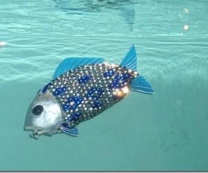 Robot Balık İle Sudaki Kirlilik Araştırılacak