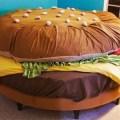 Hamburger yatak tasarımı