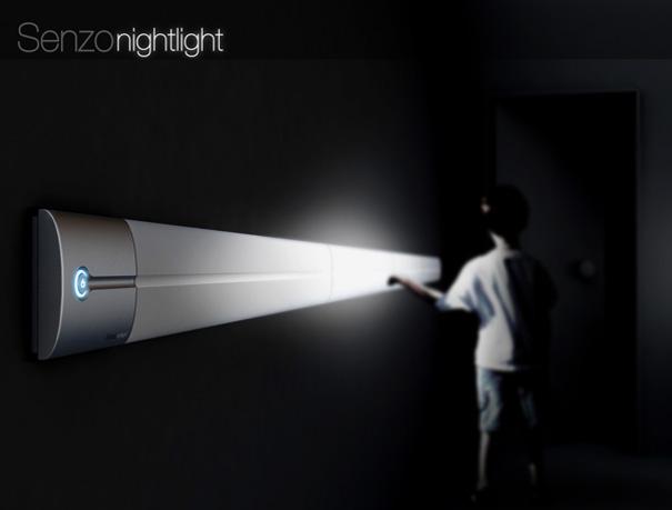 Senzo dokunmatik gece lambası
