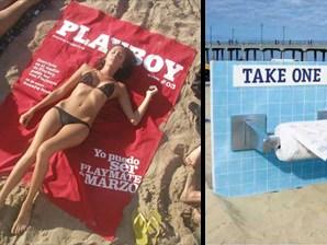 Birbirinden İlginç Plaj Havlu Tasarımları