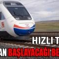 İstanbul Ankara YHT Ne Zaman Açılacak?