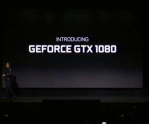 Nvidia GTX 1080 Ekran Kartını Duyurdu