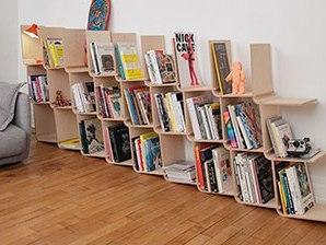 Modüler Kitaplık Tasarımı