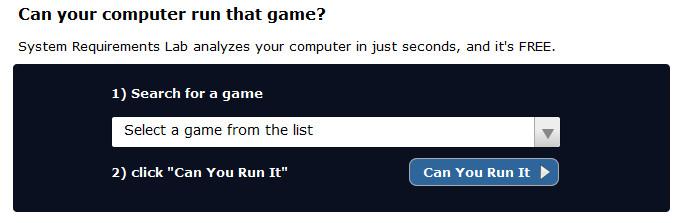 can you run it