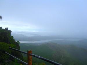 Singhagad in the rains