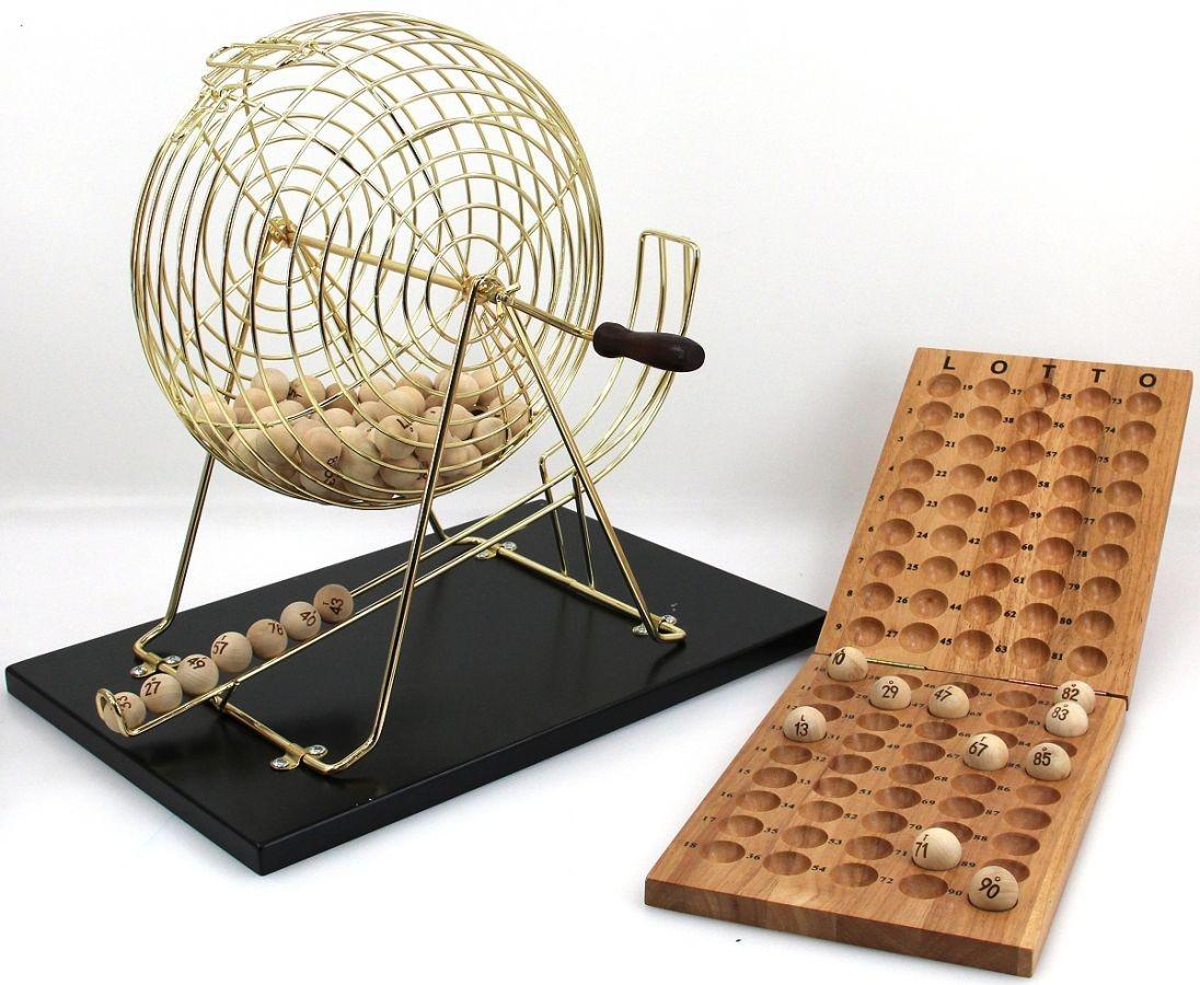Bingo Lotto Set Exclusives Spiel Von Longfield Classic