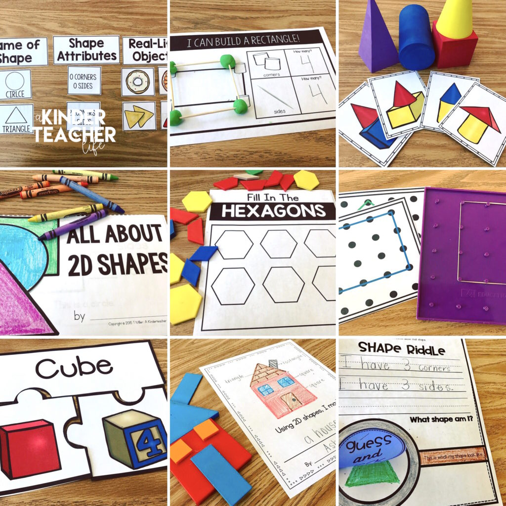 hight resolution of 12 Hands-On Shape Activities - A Kinderteacher Life