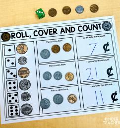 Money Math Center Activities for First Graders - A Kinderteacher Life [ 1275 x 1275 Pixel ]