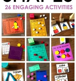 2D and 3D Shapes Activities Updated! - A Kinderteacher Life [ 2249 x 1299 Pixel ]