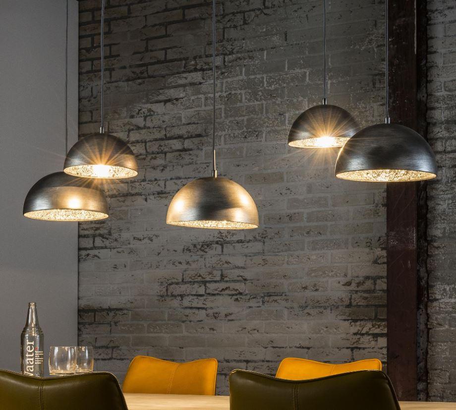 5delige hanglampen set Teide kopen voor boven de eettafel