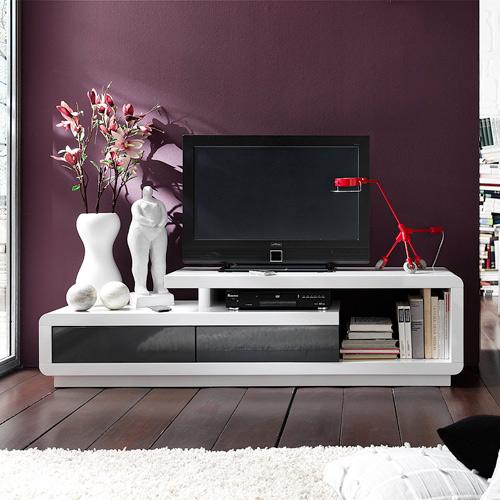 hoogglans tv meubel celia wit bestellen  Aktie wonennl