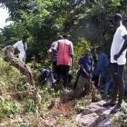 Schwerstarbeit zwischen Dschungel und Felsen