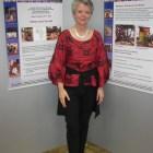 Marianne Schneider-Ortmann mit unseren Plakaten