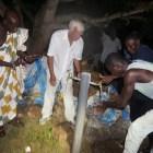 Übergabe des Projekts an die Dorfgemeinschaft