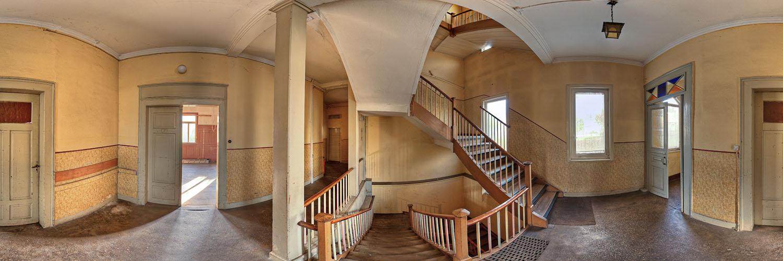 360°-Panorama in Lorch - Treppenhaus in der ehemaligen Gaststätte Harmonie