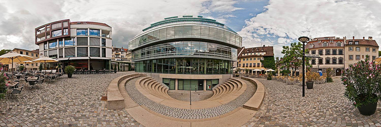 360°-Panorama von Ulm - Neue Bibliothek am Theodor-Pfizer-Platz