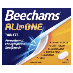 Buy Beechams All in One 16 Tablets Online