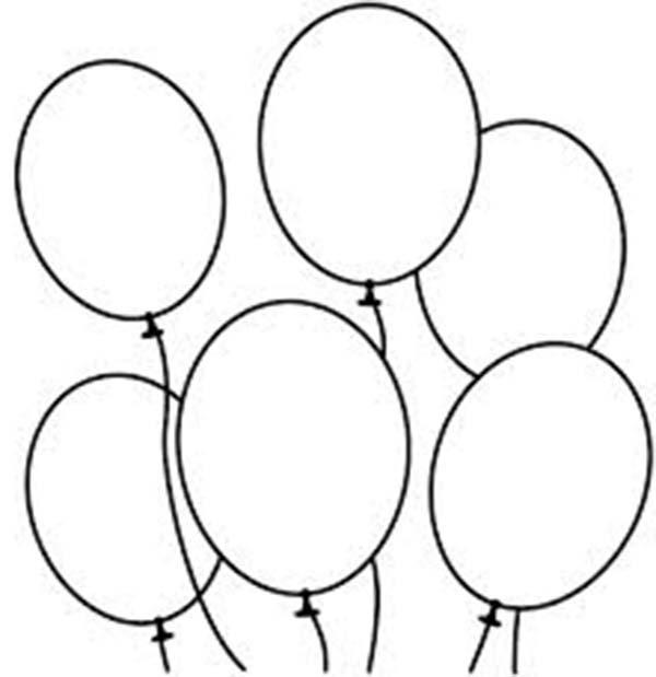 Malvorlage Luftballon Ausdrucken