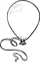Luftballons Malvorlagen 17