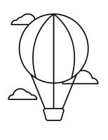 Luftballons Malvorlagen für Kinder 9