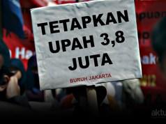 Buruh Jakarta Tuntut Upah 2017 Naik Rp3,8 Juta. (ilustrasi/aktual.com)