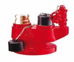 Two ways(wet) bleaching inlet hydrant valve