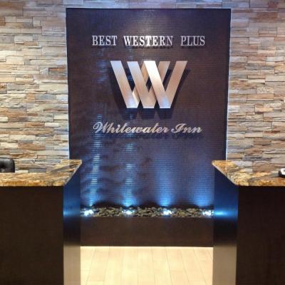 Vandens siena su logo Western