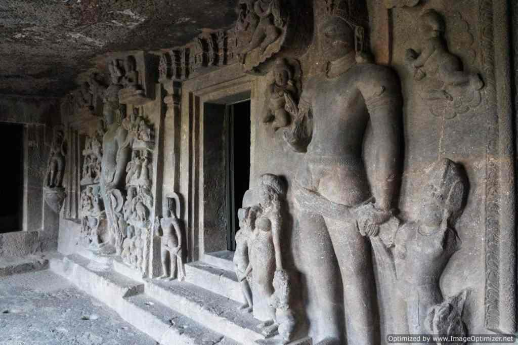 Les grottes d'Aurangabad