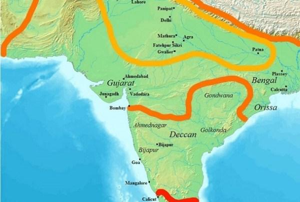 Empire moghol, Mughal empire, India, Inde, histoire, history