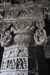 Details of pillar cave number 3