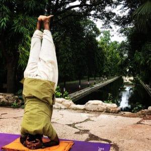 yoga en Inde, make Yoga in India