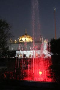Gurudwara by night