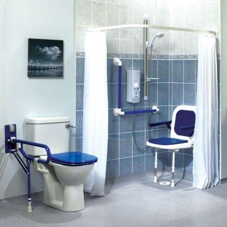 Shower Curtains White  AKW